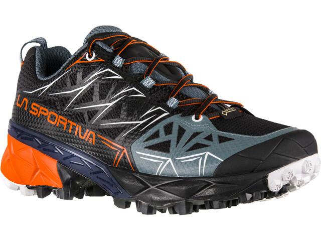 La Sportiva Akyra GTX Chaussures de trail Femme, black/pumpkin